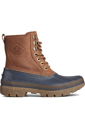 Sperry Top-Sider Men's Sperry Ice Bay Boot Navy/Tan, Size 7M