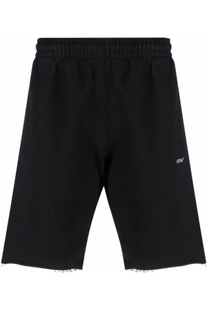 OFF-WHITE Men Shorts - Tornado Arrows-Print Sweat Shorts