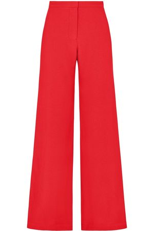 SERENA BUTE Women Pants - The Jazzy Trouser - Poppy Red Viscose