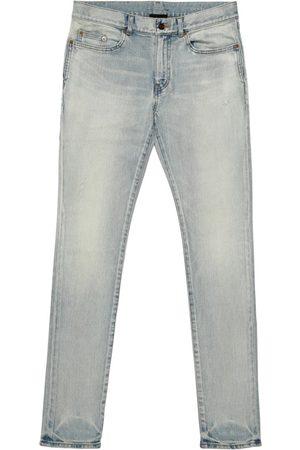 Saint Laurent Cotton Straight-Leg Jeans