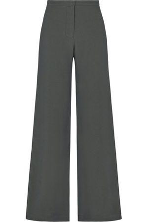 SERENA BUTE The Jazzy Trouser - Khaki Green Viscose