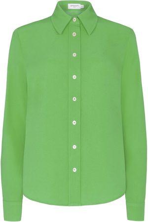 SERENA BUTE The New Serena Shirt - Bright Green Viscose