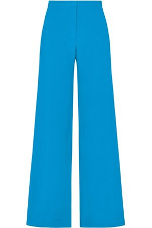 SERENA BUTE Women Pants - The Jazzy Trouser - Kingfisher Blue Viscose