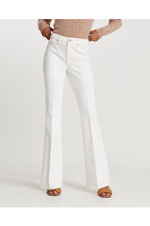 River Island Womens high waisted flared jeans