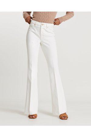 Women High Waisted - River Island Womens high waisted flared jeans