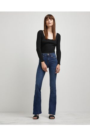 Women Flares - River Island Womens mid rise flared jeans