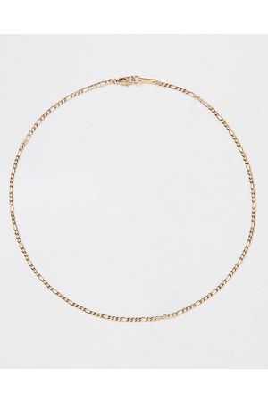 River Island Mens Gold stainless steel chain necklace