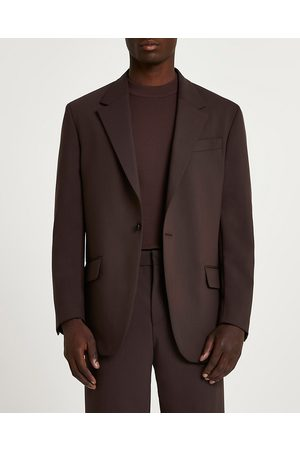 Men Jackets - River Island Mens relaxed fit suit jacket