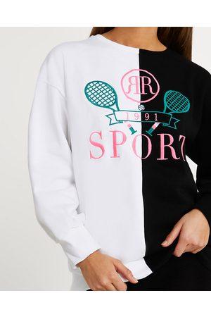 Women Long sleeves - River Island Womens long sleeve sport sweatshirt