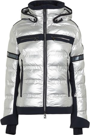 Toni Sailer Yoko metallic ski jacket