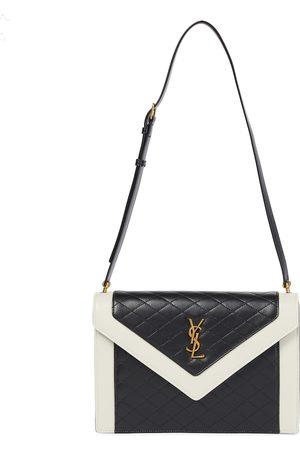 Saint Laurent Women Purses - Gaby leather shoulder bag