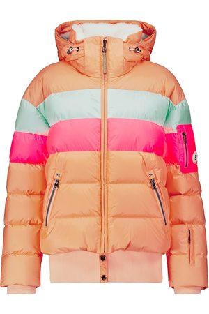 Bogner Women Ski Suits - Sanja striped down ski jacket