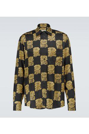 Nanushka Kaleb long-sleeved printed shirt