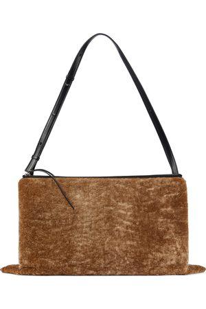 Jil Sander Empress shearling shoulder bag