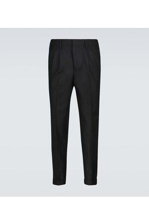 Ami Wool pleated pants