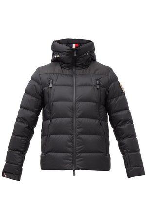 Moncler Men Sports Hoodies - Camurac Hooded Down Coat - Mens - Black