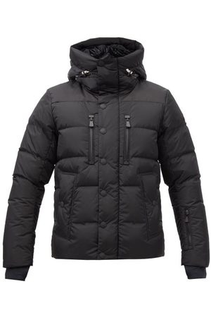 Moncler Rodenberg Hooded Down Coat - Mens - Black