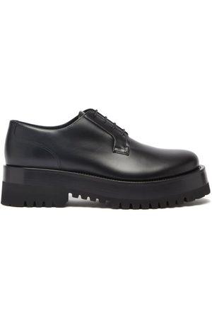 VALENTINO GARAVANI Upraise Leather Derby Shoes - Mens