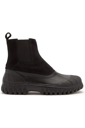 Diemme Balbi Suede And Rubber Chelsea Boots - Mens