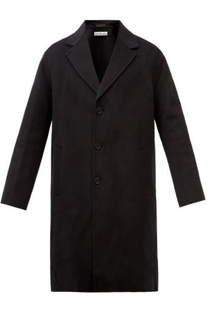 Acne Studios Dali Single-breasted Wool Overcoat - Mens