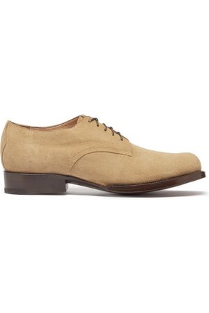 YUKETEN Alan Suede Derby Shoes - Mens - Light