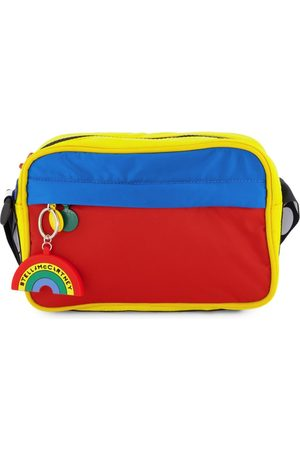 Stella McCartney Kids - Colourblock Branded Shoulder Bag - One Size - - Handbags