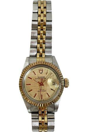TUDOR Oysterdate yellow watch