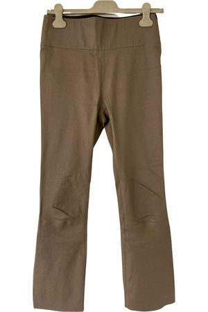 SPRWMN Leather slim pants