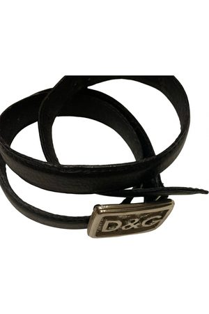 D&G by Dolce & Gabbana Leather belt