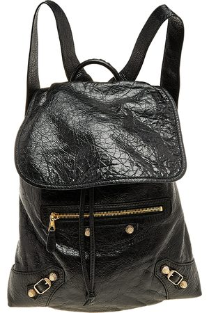 Balenciaga Leather Baby Diam Classic Traveller S Backpack