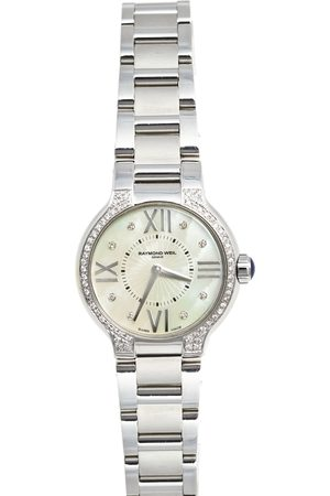 Raymond Weil Mother of Pearl Stainless Steel Diamond Noemia 5927 Wristwatch 27 mm