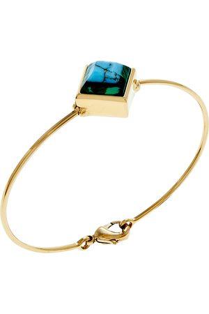 Fendi Tone Rainbow Bangle Bracelet S