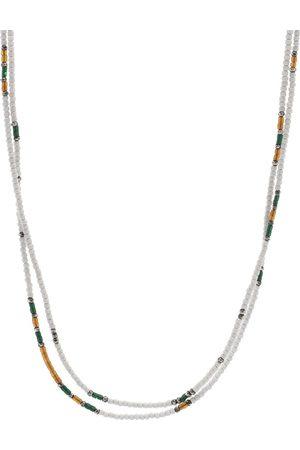 "M. COHEN Men Necklaces - 30"" Stacked Mini Bead Necklace"