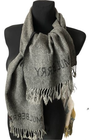 MULBERRY Wool scarf & pocket square