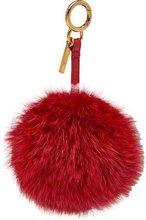 Fendi Fox Fur Pom Pom Key Ring/Bag Charm