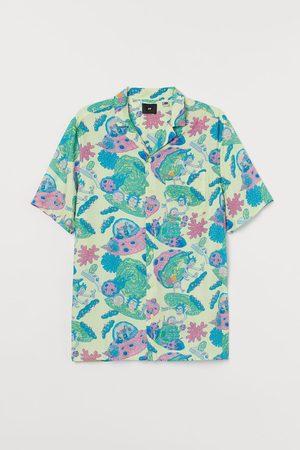 H&M Men Short sleeves - Patterned Resort Shirt