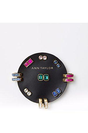 ANN TAYLOR Baguette Stud Earring Set