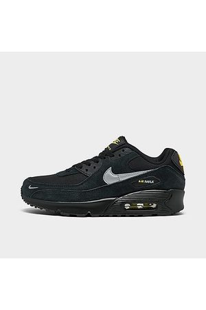 Nike Casual Shoes - Big Kids' Air Max 90 GS Casual Shoes in / Size 4.0 Leather/Suede