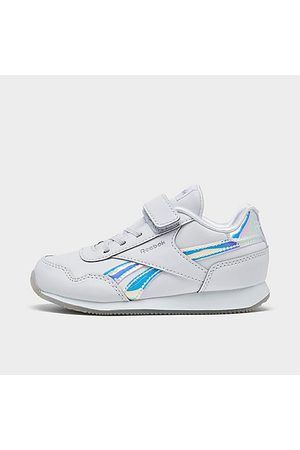 Reebok Casual Shoes - Girls' Toddler Royal Classic Jogger 3 Casual Shoes in /Cloud Size 4.0 Leather