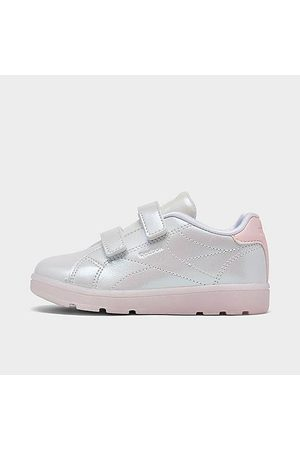 Reebok Casual Shoes - Girls' Toddler Royal Complete CLN 2 Casual Shoes in Off- /Cloud Size 4.0 Leather