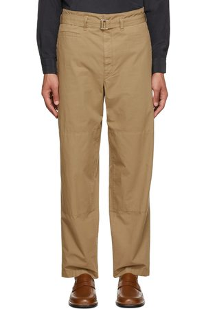LEMAIRE Men Trench Coats - Cotton Trench Trousers