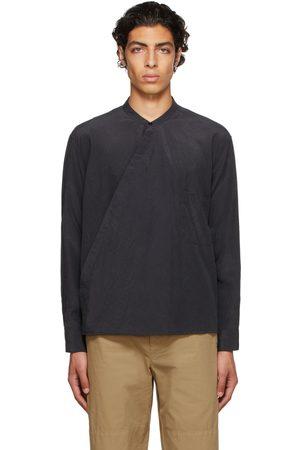 LEMAIRE Silk Wrapover Shirt