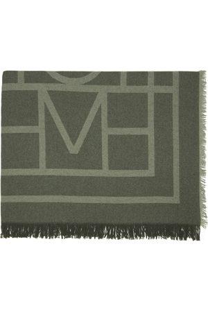 Totême Wool & Cashmere Monogram Scarf