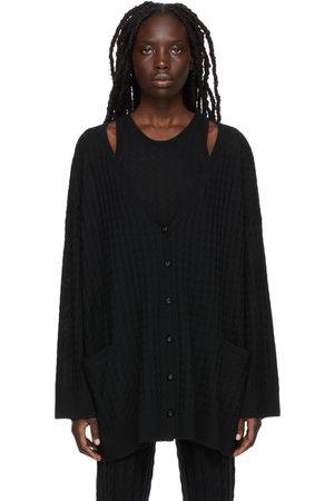 Totême Women Cardigans - Wool Mini Cable Cardigan