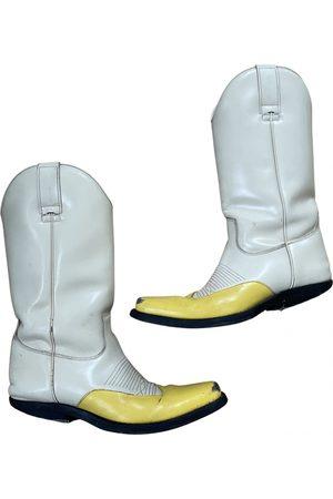 Calvin Klein Patent leather cowboy boots