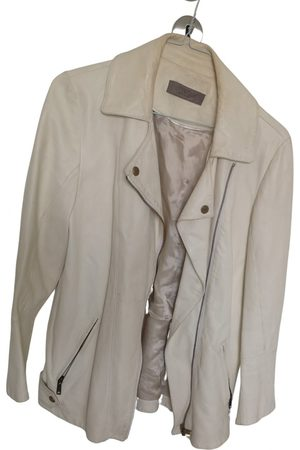 UTERQUE Leather biker jacket