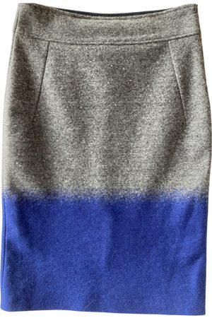 Caroline Biss Wool mid-length skirt