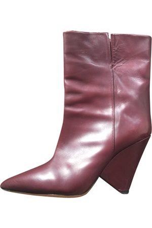 Isabel Marant Luliana leather western boots
