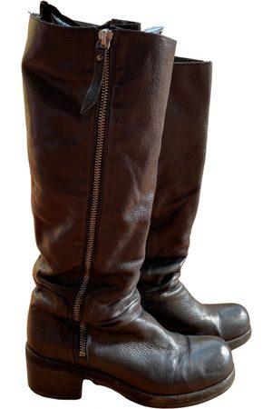 vic matiè Leather riding boots