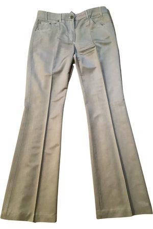 Chloé Silk straight pants